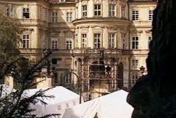 Východní Němci v roce 1989 v Praze
