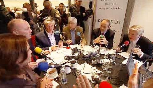Diskuse o Lisabonu v dublinském obchodním domě Arnotts