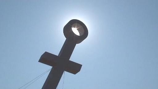 Symbol papežovy návštěvy v Brně