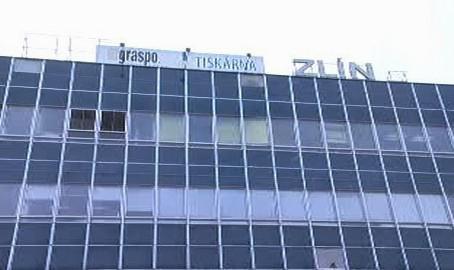 Budova tiskárny Graspo ve Zlíně