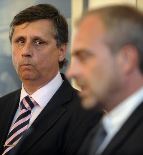 Jan Fischer a Luboš Pomajbík