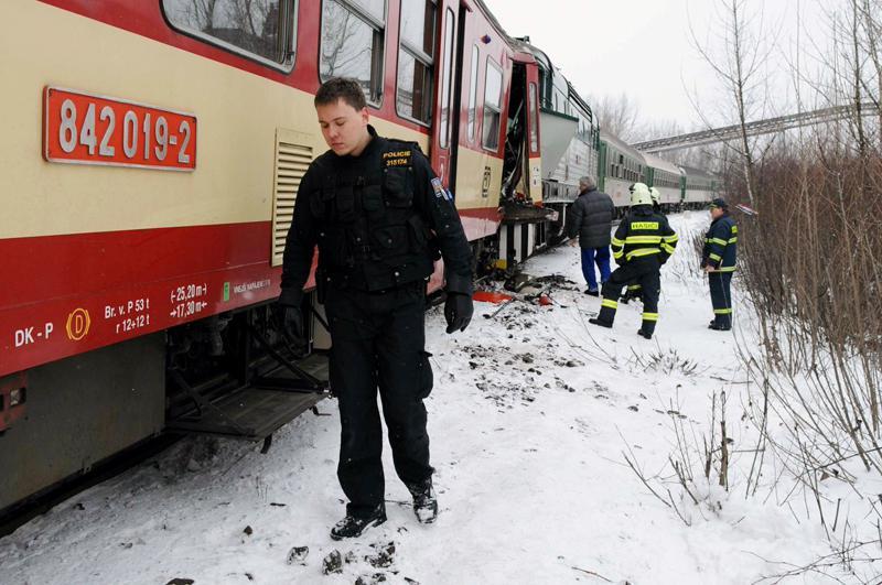 Srážka dvou osobních vlaků