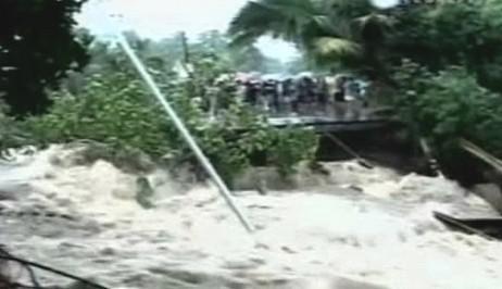 Následky bouře na Filipínách