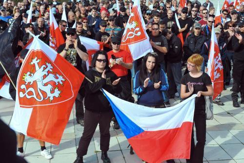 Demonstrace pravicových radikálů
