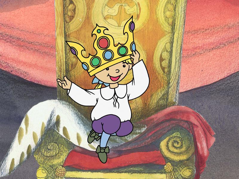Večerníček Malý král