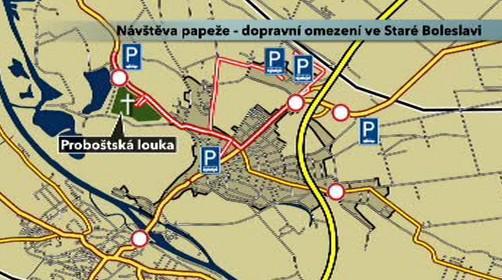 Dopravní omezení ve Staré Boleslavi