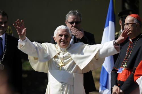 Papež zdraví věřící