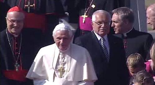 Papež s prezidentem