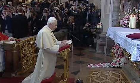 Papež Benedikt XVI. v Česku