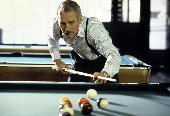 Paul Newman ve filmu Barva peněz