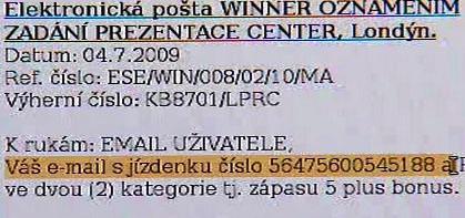 Falešné maily