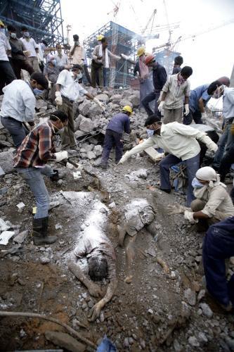 Oběti neštěstí v Indii