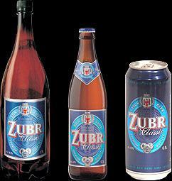 Pivo značky Zubr