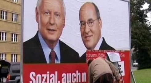 Předvolební kampaň německé Levice