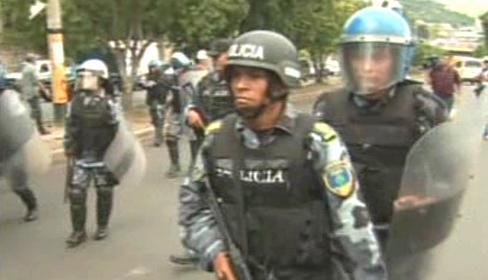 Honduraská policie