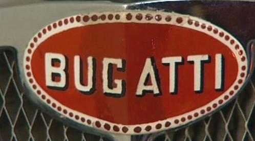 Logo automobilky Bugatti
