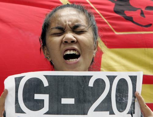 Ne všichni se na summit G20 těší