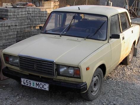Vůz značky Lada