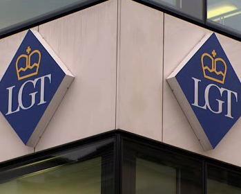 Logo lichtenštejnské banky LGT