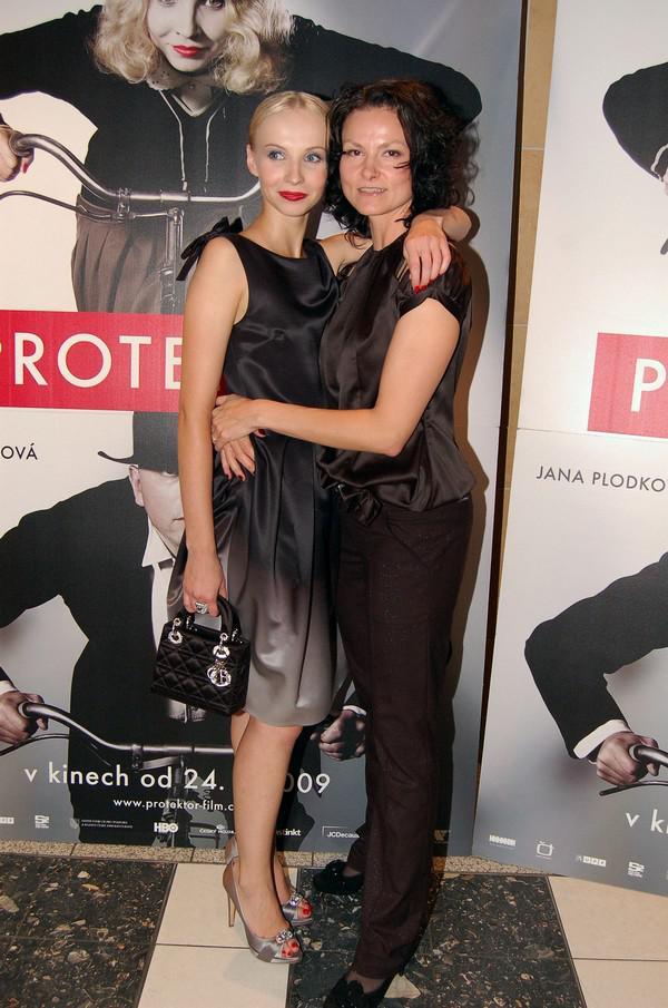 Jana Plodková a Klára Malíšková