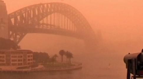 Písečná bouře v Sydney