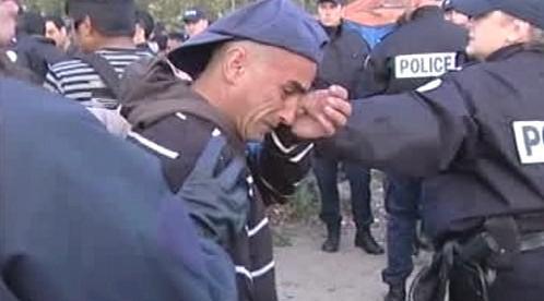 Zásah policie v Calais