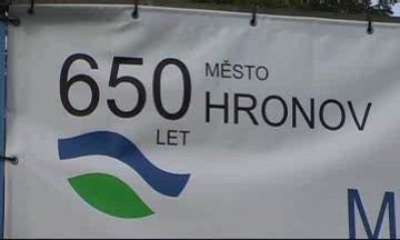Hronov slavil 650 let