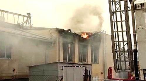 Požár v Táboře