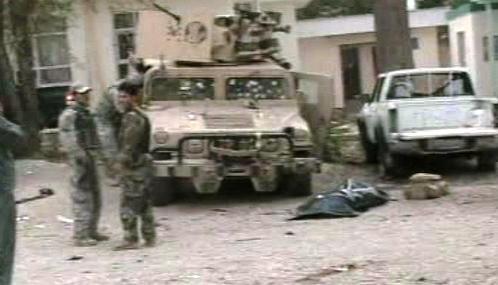 Útok na spojenecké jednotky v Afghánistánu