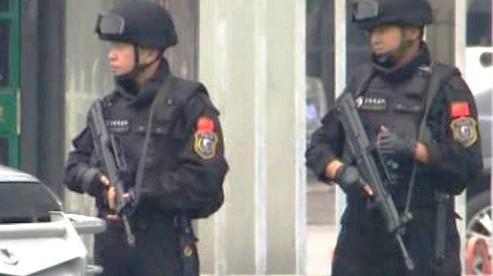 Čínští policisté