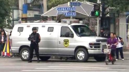 Bezpečnostní opatření v Pekingu