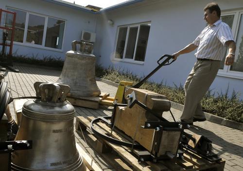 Zvony určené k papežskému vysvěcení