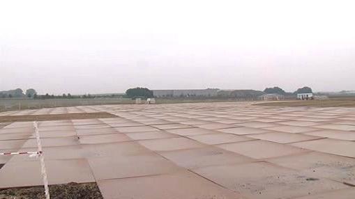 Areál na brněnském letišti