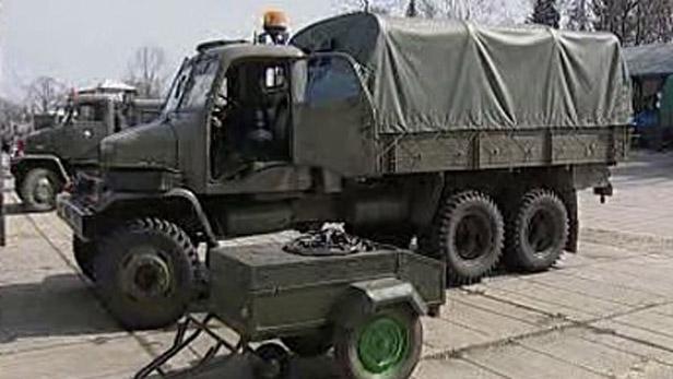 Nákladní auto Praga V3S