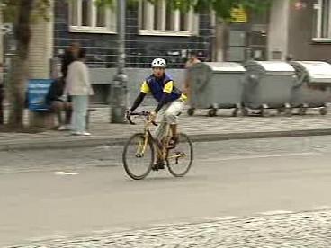 Dopravní závod – cyklista