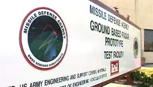 Protiraketový radar