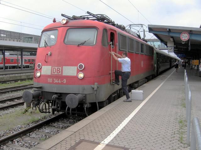 Vlak v Regensburgu