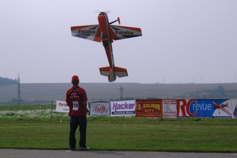 Evropský šampionát v extremní akrobacii obřích modelů letadel