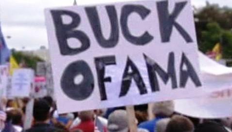 Demonstrace proti Baracku Obamovi