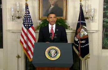 Barack Obama na brífinku k protiraketové obraně