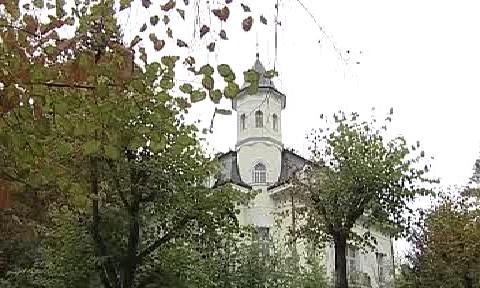 Chátrající Becherova vila