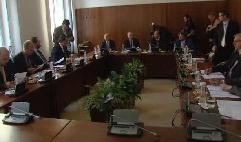 Jednání ministra Janoty se zástupci politických stran