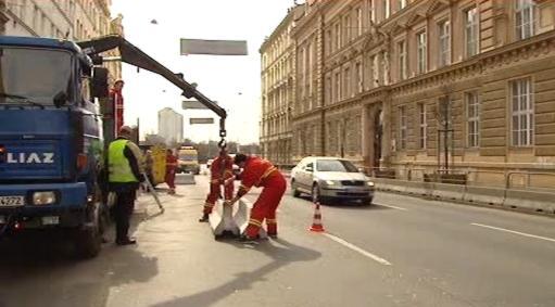 Omezení provozu v Legerově