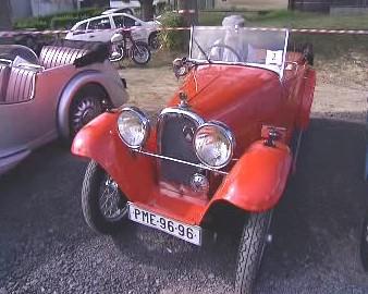 vůz značky Aero