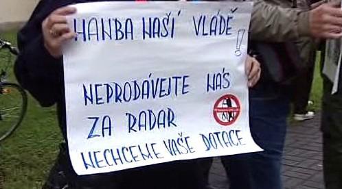 Protesty proti radaru
