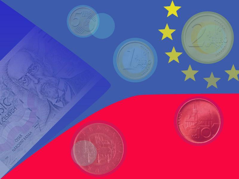 Koruna a euro