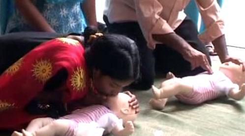 Kurzy první pomoci v Bangladéši