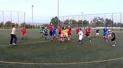 Děti na tréninku