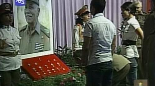 Pohřeb Juana Almeidy Bosquea