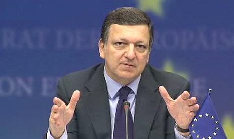 José Manuel Barroso na summitu EU
